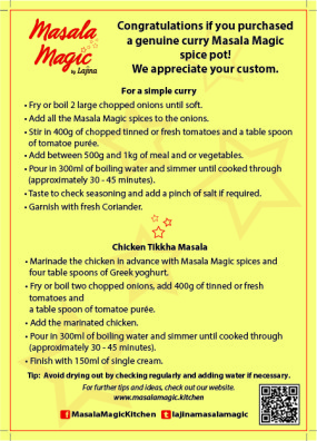 Masala Magic Leaflet_Front