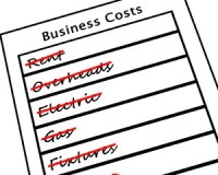 Cut business costs for bricks and mortar