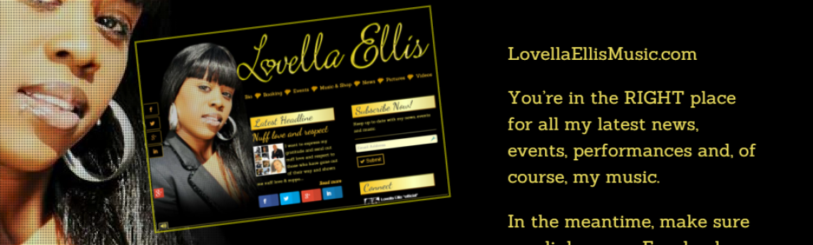 Project: Lovella Ellis Music Website