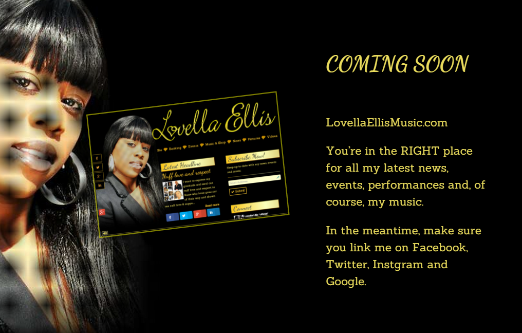 Coming soon Lovella Ellis Music