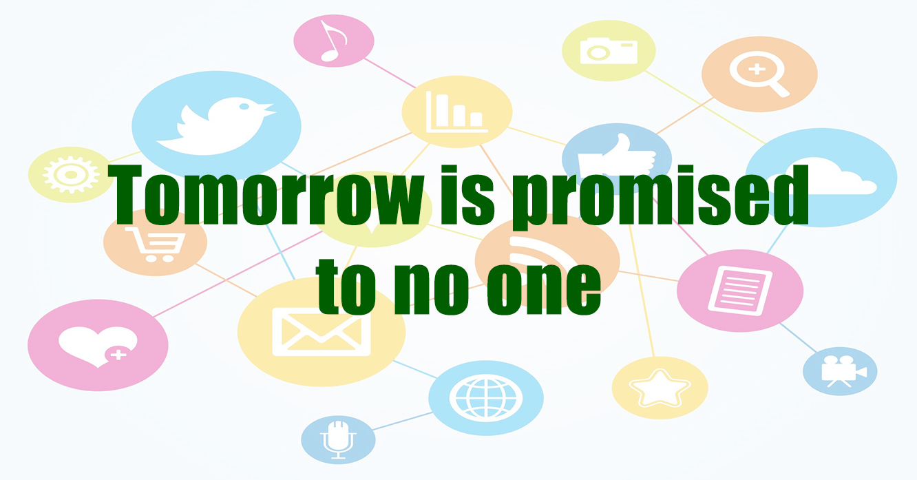 Tommorow is promised to no one - What happens with your Digital Legacy?