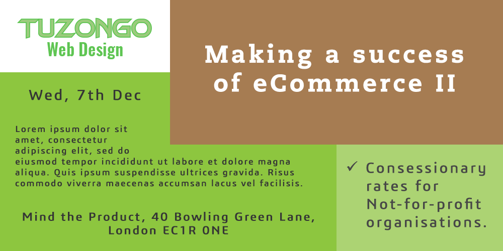 Making a success of eCommerce II